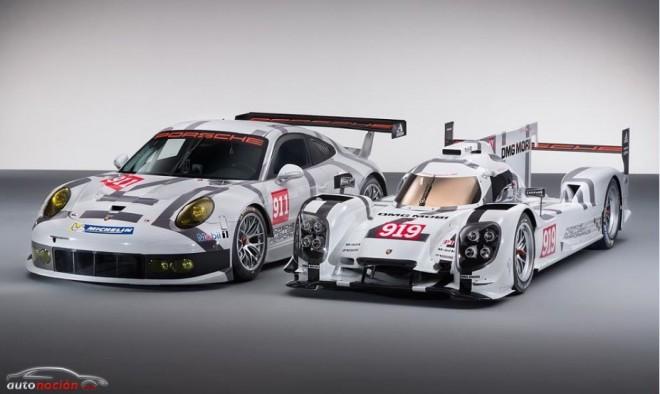 Porsche nos muestra al 919 Hybrid y al 911 RSR
