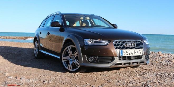 Prueba Audi A4 Allroad quattro 2.0 TFSI S tronic: Campo, carretera y familia unidos de la mano