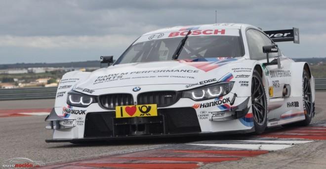 Ya está aquí el BMW M4 DTM 2014: Competidor nato