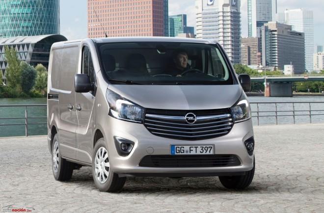 Opel nos revela el aspecto final del nuevo Vivaro, el nuevo comercial ligero alemán