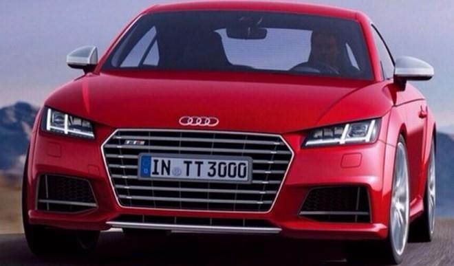 Filtradas las primeras imágenes del nuevo Audi TT antes de su debut oficial