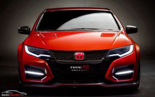 Honda nos revela el aspecto final del Civic Type R Concept