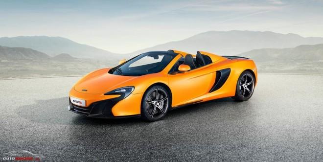 McLaren nos muestra el 650S Spider: Altas prestaciones a cielo abierto