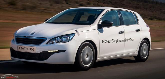 Peugeot logra un consumo de sólo 2,83 litros a los 100 km con su nuevo motor tricilíndrico