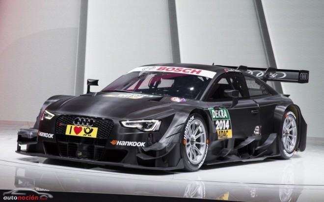 Audi RS5 DTM 2014: Rizar el rizo…