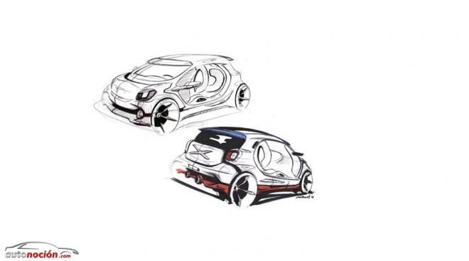 El Smart ForTwo y el Smart ForFour compartirán un 70% de las piezas con el Renault Twingo