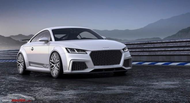 Audi TT quattro concept: El potencial dinámico del nuevo TT en estado puro
