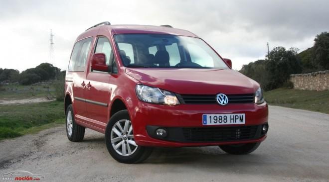 Prueba Volkswagen Caddy Comfortline «Edition» 2.0 TDI 4MOTION