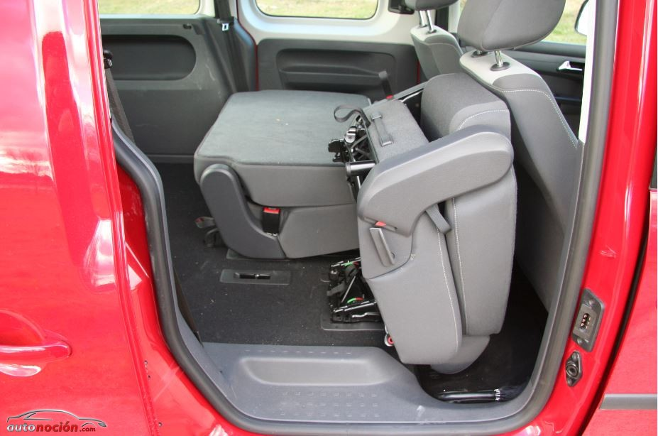 Prueba Vokswagen Caddy Comfortline Edition 2.0 TDI 4MOTION (Parte 2)