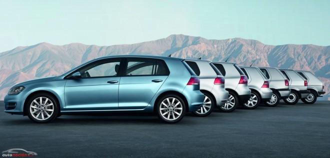 El Volkswagen Golf lleva ya 40 años en la carretera