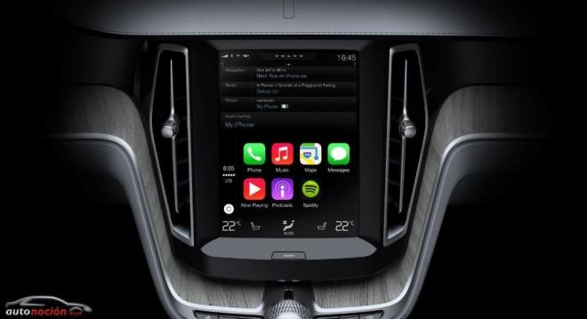 Volvo, Ferrari y Mercedes-Benz serán los primeros en ofrecer Apple CarPlay
