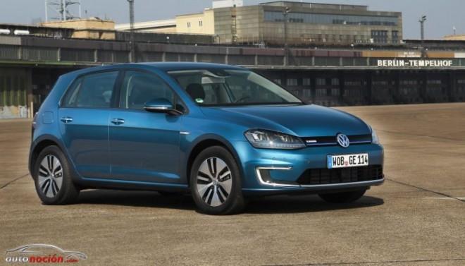 El Volkswagen Golf eléctrico llegará en julio con 190 km de autonomía