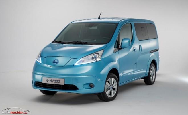 La furgoneta eléctrica e-NV200 de Nissan llegará en julio