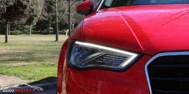 faro luz diurna led Audi A3 sedan