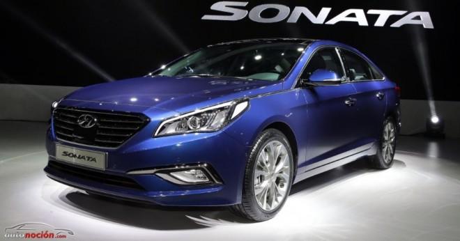 Así es el nuevo Hyundai Sonata: La berlina media evoluciona