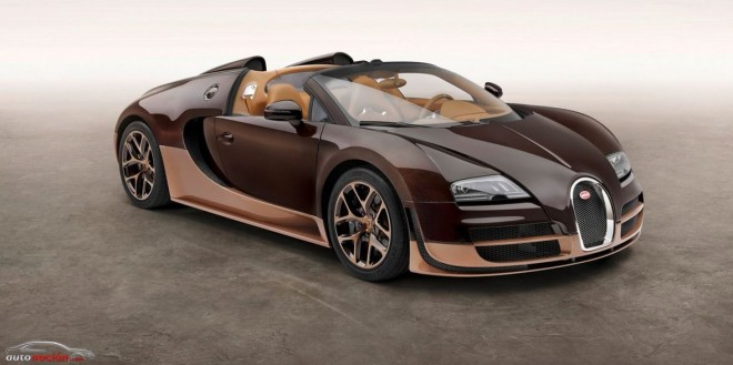 Bugatti Veyron Legend Rembrandt Bugatti: 2.180.000 euros de recuerdos