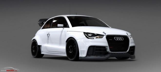 Audi S1 EKS RX Concept: 600 cv para el Campeonato del Mundo FIA de Rallycross
