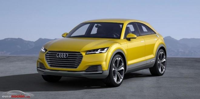 Audi TT Offroad concept: Cuando el Q3 se fusiona con el TT