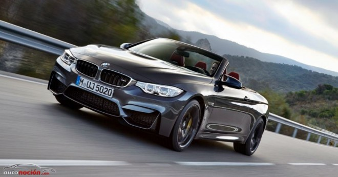 Nuevo BMW M4 Cabrio: 431 cv a cielo abierto