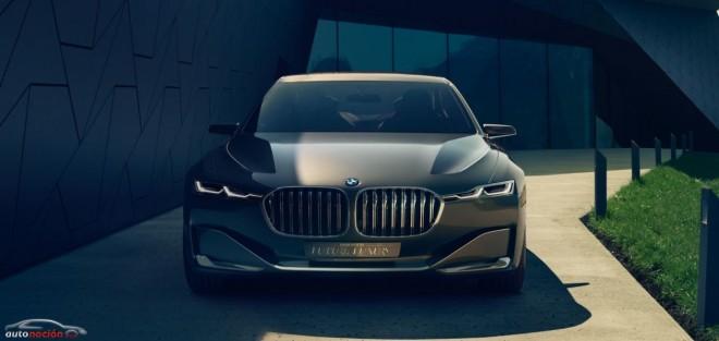 BMW Vision Future Luxury: Un vistazo al próximo Serie 7