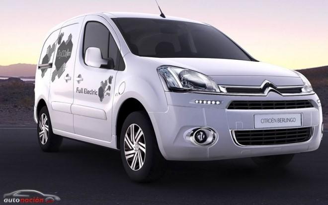 Citroën ya tiene disponible la Berlingo Electric en España