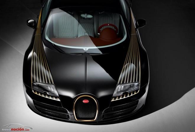 Les Légendes de Bugatti ya tiene su quinta edición: Black Bess, oro de altas prestaciones