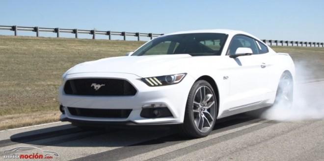 """Así funciona el """"Burnout Control"""" del Nuevo Ford Mustang: Electronic line-lock system"""