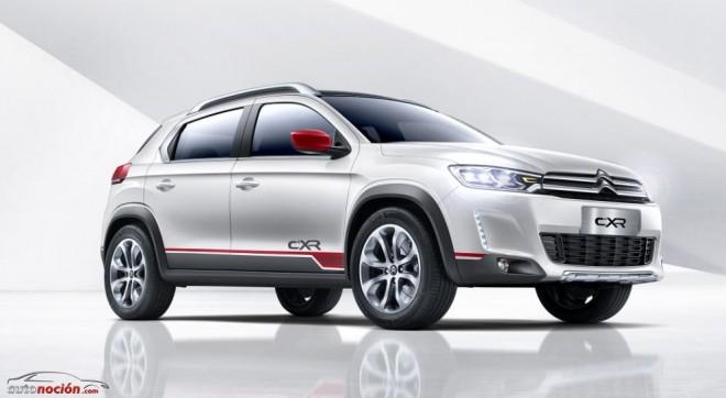 Citroën C-XR Concept: El SUV asiático con toques galos