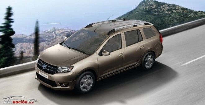 El 7º miembro de la familia Dacia es un familiar: Logan MCV