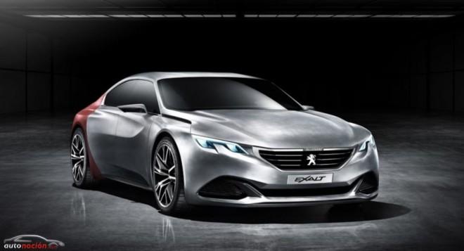Primeros detalles del Concept Peugeot Exalt: Las líneas del sedán deportivo galo