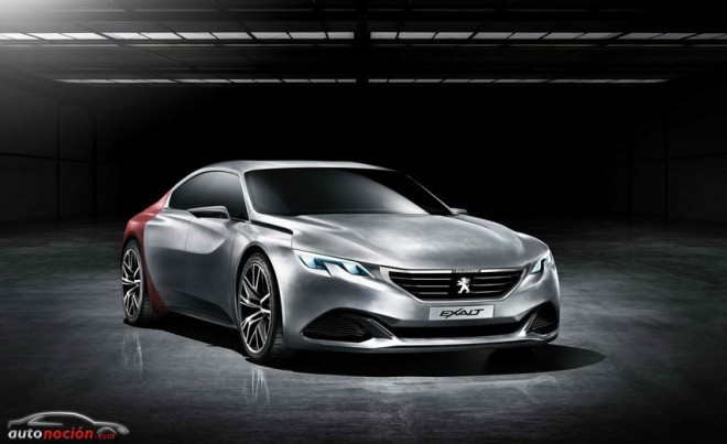 Peugeot Exalt: El nuevo concept galo tiene un corazón híbrido de Peugeot Sport