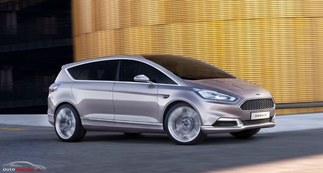Ford S-Max Vignale Concept: First Class en formato familiar