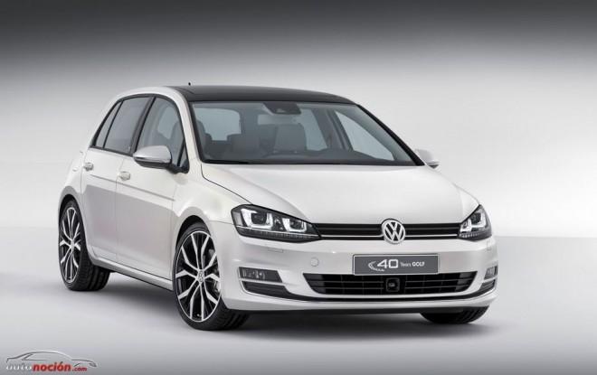Volkswagen Golf Edition Concept: El Golf más lujoso para celebrar el 40 aniversario del modelo