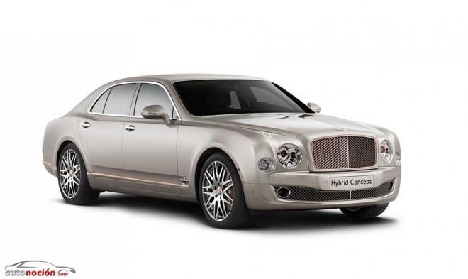 Bentley se desmarca con un modelo híbrido enchufable: En 2020 el 90% de su gama ofrecerá esta tecnología