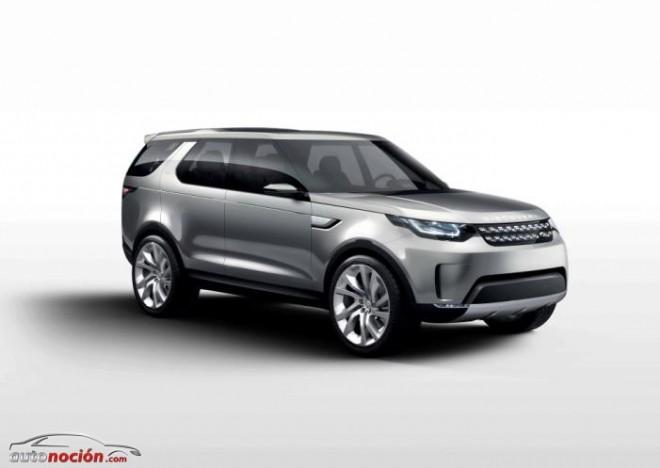 El futuro de la familia Discovery está más cerca: Land Rover Discovery Vision Concept