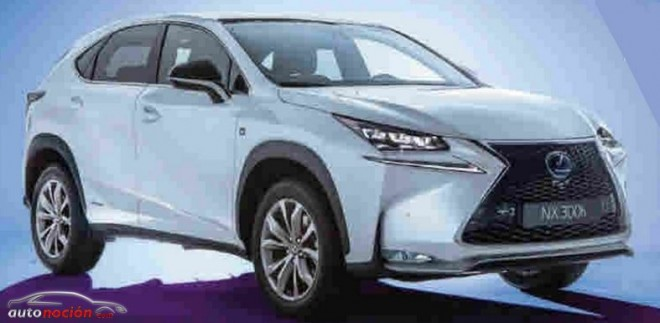 Más detalles e imágenes del Lexus NX: El SUV compacto nipón al descubierto