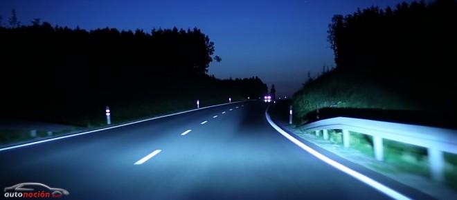 ¿Unas luces de carretera permanentes con función antideslumbramiento?