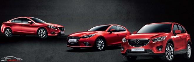 Mazda ya ha producido un millón de vehículos con la tecnología SKYACTIV