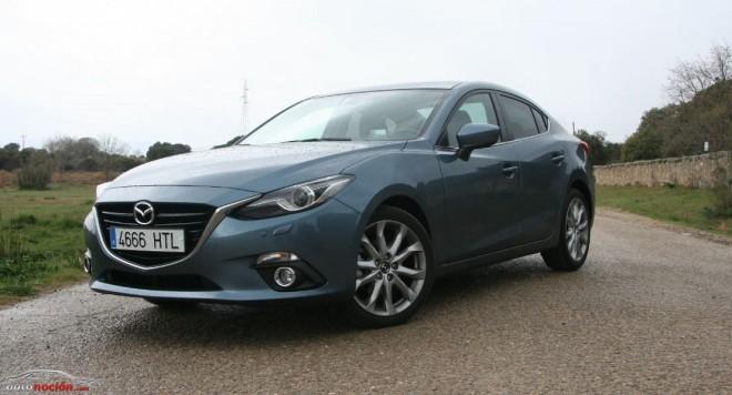 Prueba Mazda3 SportSedan 2.0 120 cv Luxury: Listo para dar guerra
