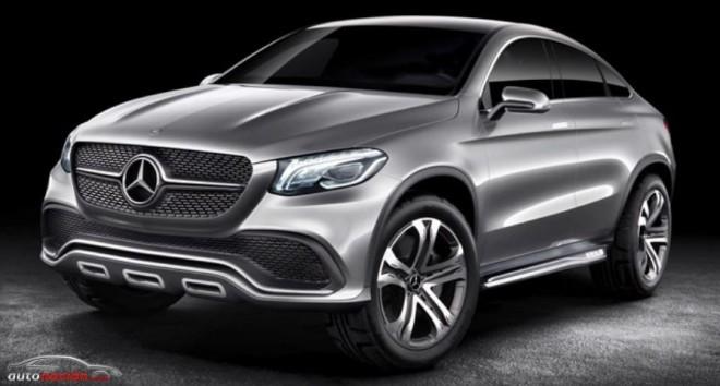Mercedes-Benz ya tiene un modelo que rivalizará con el BMW X6: ¿MLC?