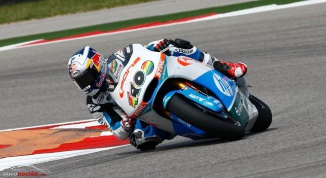 Viñales se consagra en Moto2 con su triunfo en la pista de Austin