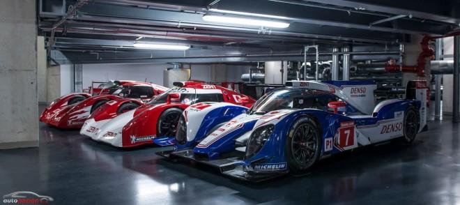El Museo de Toyota Motorsport nos muestra algunas de sus joyas