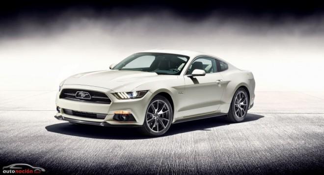 Ford Mustang Edición Limitada 50 Aniversario: 420 cv de historia