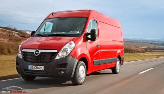 Nueva Opel Movano: Ahora con la última generación de motores BiTurbo