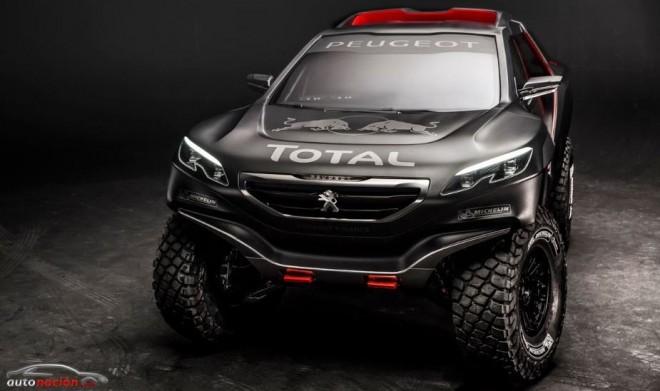 Peugeot desvela su arma para el próximo Dakar: el Peugeot 2008 DKR