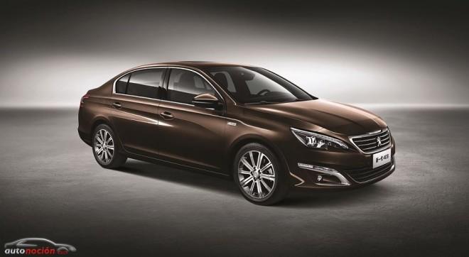 Nuevo Peugeot 408: Sólo para China