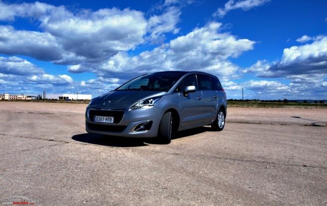 Peugeot 5008 Allure HDi 115 CV ETG-6: Espacio habitable