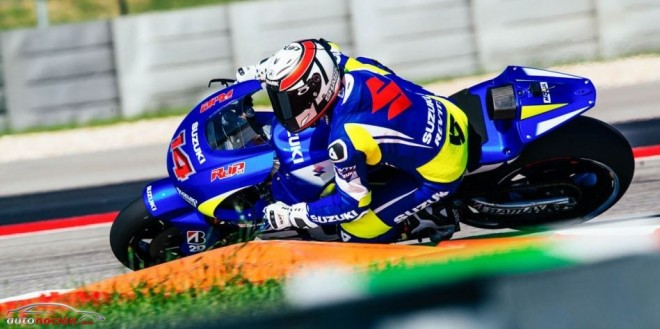 Suzuki sigue preparando su regreso a MotoGP completando su test en Austin