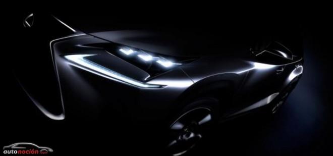Lexus nos muestra la primera imagen del NX: Empieza la cuenta atrás