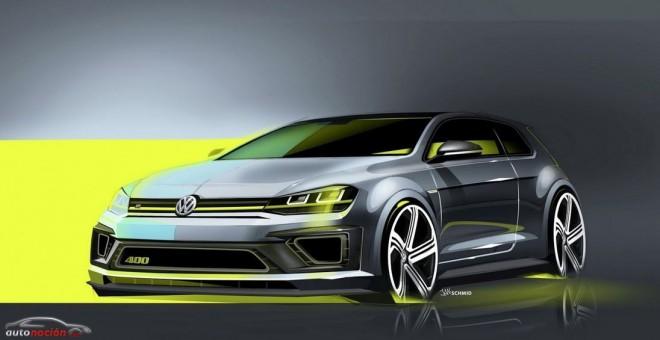 Volkswagen Golf R 400 Concept: 400 cv y 450 Nm de par para la bestia alemana